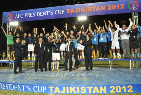 Istikol were victorious in the 2012 AFC President's Cup