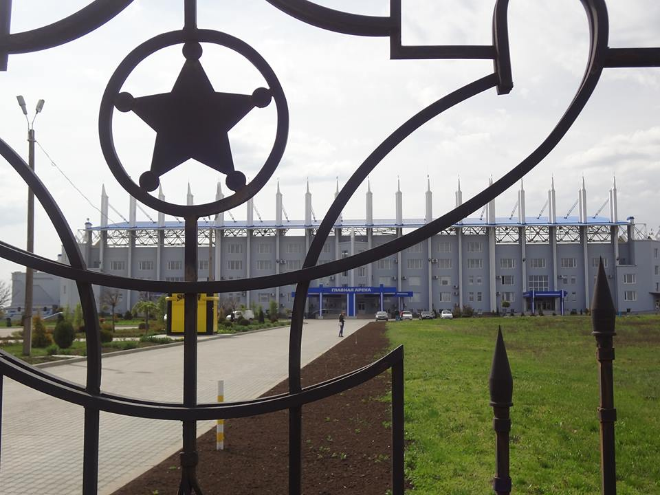The gates of Sheriff Stadium remain firmly locked (Photo by David McArdle, 2014)