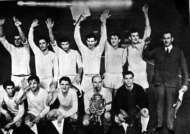 Karpaty won the USSR Cup in 1969