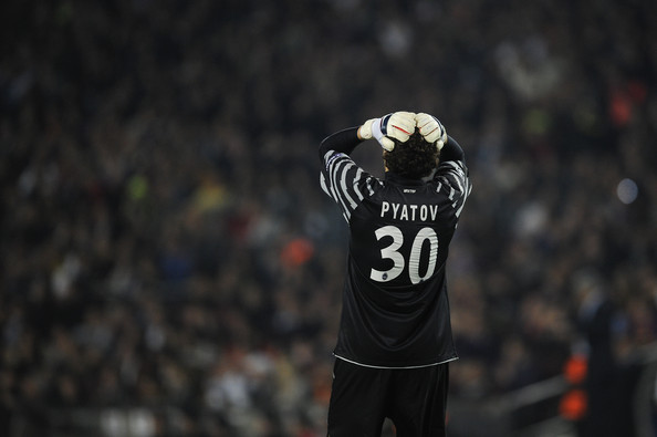 Andriy Pyatov, the much maligned goalkeeper of Shakhtar Donetsk