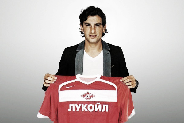 Argentine midfielder Tino Costa, one of Spartak's new arrivals for whom Ananidze appears to have made way.