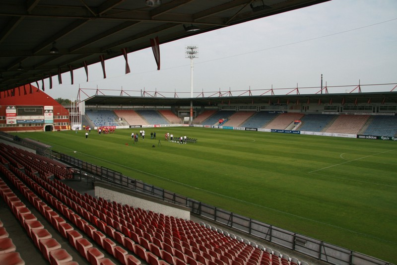 The somewhat underwhelming Skonto Stadions