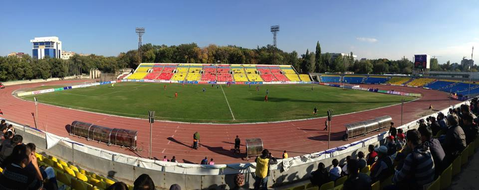 Spartak Stadium, Bishkek (photo by Martin Camis, 2013).