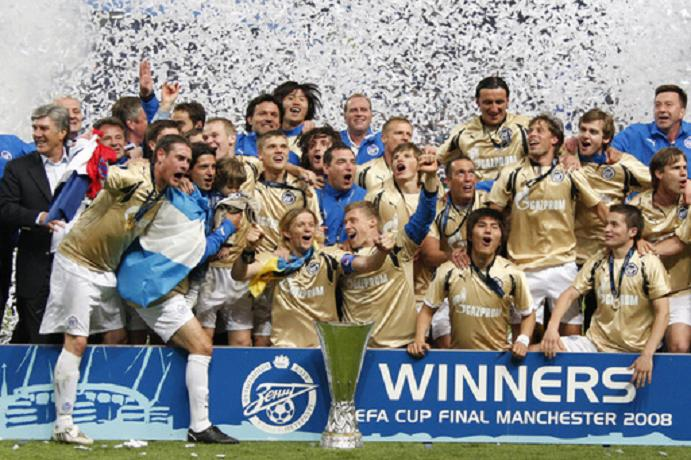 Zenit's 2008 UEFA Cup triumph in Manchester remains their only European silverware