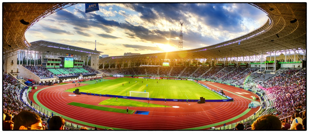 The Tofiq Bahramov Stadium, Baku