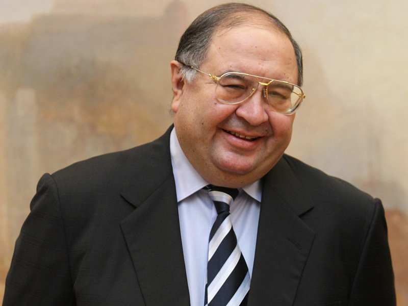 Alisher Usmanov - putting his rubles where his mouth is