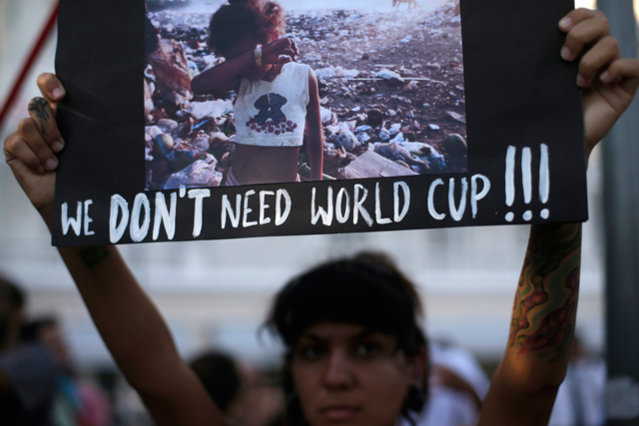 Brazil-style protests will almost certainly be replicated throughout Russia's 2018 World Cup