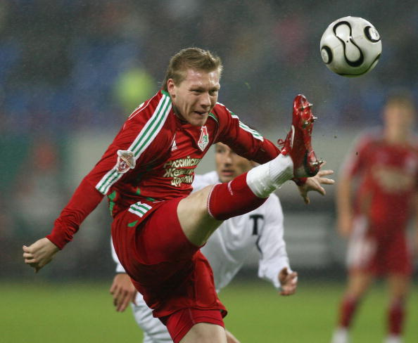 Garry O'Conner - kicking above his weight in Moscow for Lokomotiv