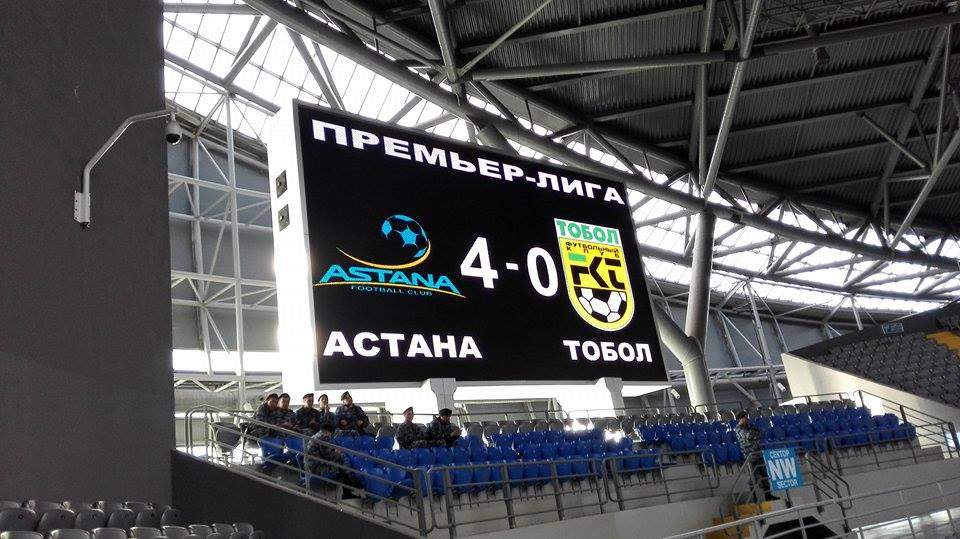 FC Astana is ready to built on domestic success.