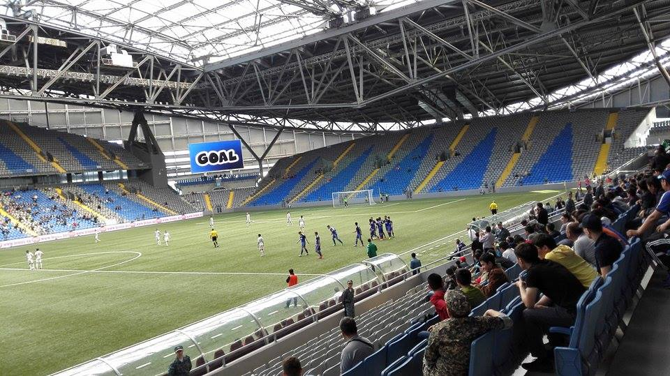 FC Astana plays in the brand new, but often empty Astana Arena