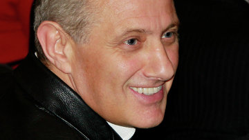 Boris' father Boris Rotenberg who is also the chairman of Dinamo Moscow.