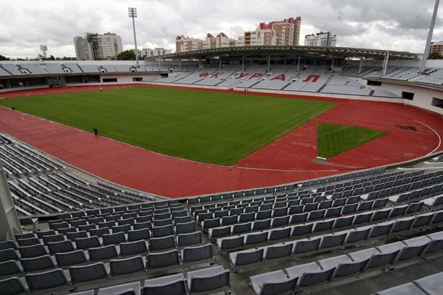 Can Goncharenko bring success to Yekaterinburg's Central Stadium?