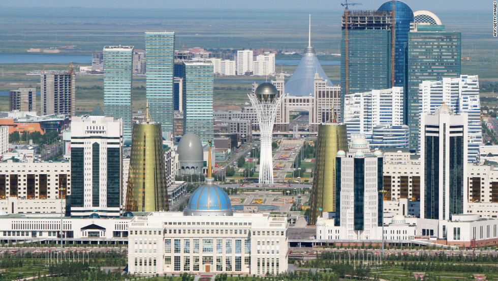 Astana - Kazakhstan's Futuristic Capital