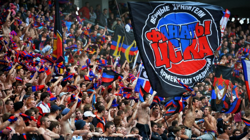 CSKA Moscow was repeatedly punished for their fans behaviour in the past. But there were no more incidents recently.