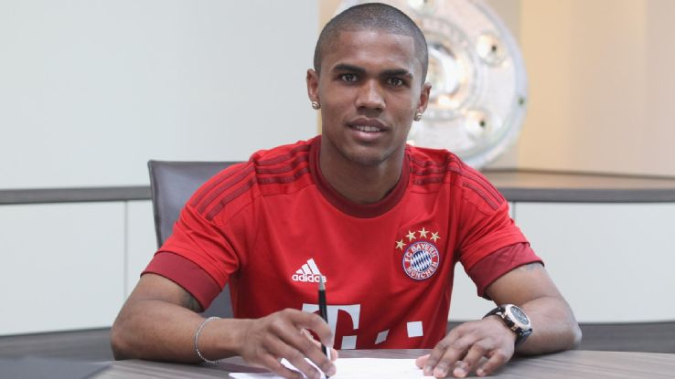 Douglas Costa was sold by Shakhtar to Bayern this summer for €30 million.