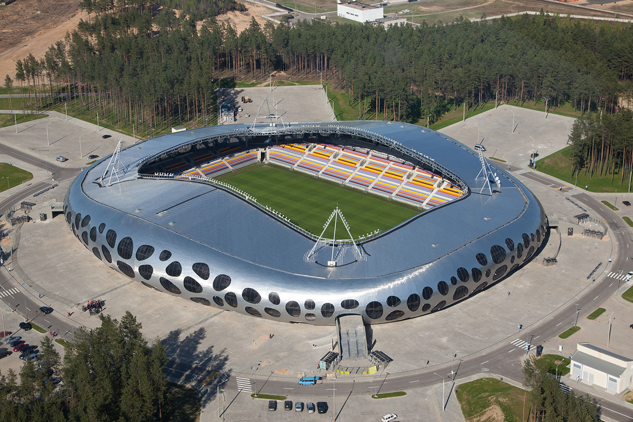 BATE's post-Soviet UFO the Borisov Arena
