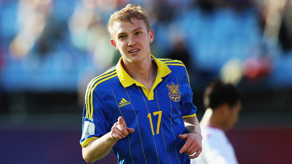 Viktor Kovalenko was recently called up to the Ukrainian national team