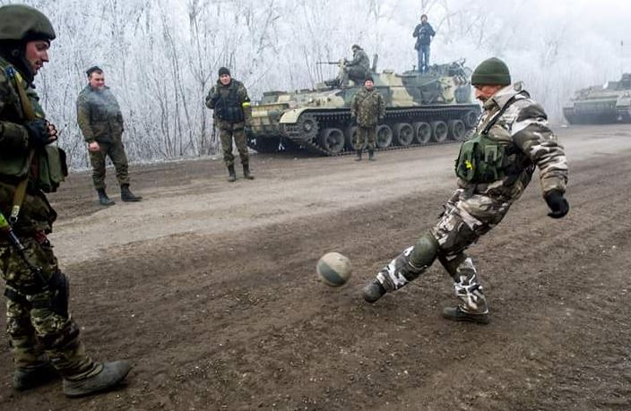 Football in Ukraine was just one of many aspects impacted by the conflict in the Donbass