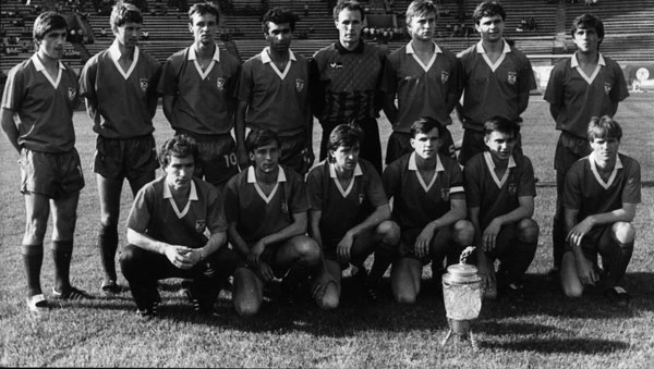 The breakup of the Soviet Union saved Metalist from relegation