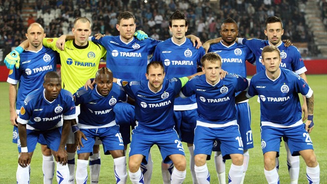 Dinamo Minsk is only Belarus' second team to reach the group stage of European football