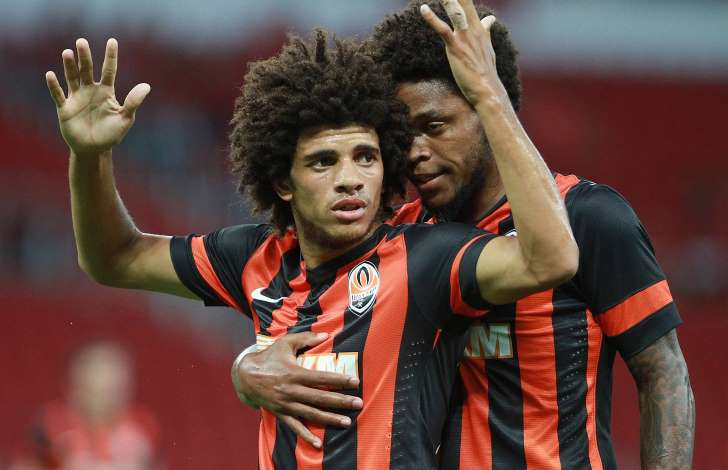 Taison here with Luiz Adriano
