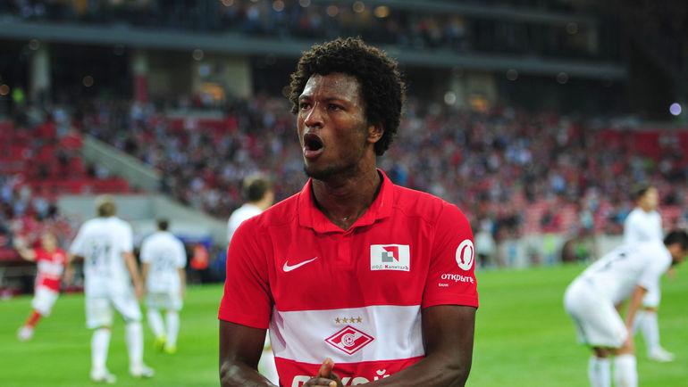 Spartak Moscow's Zé Luís