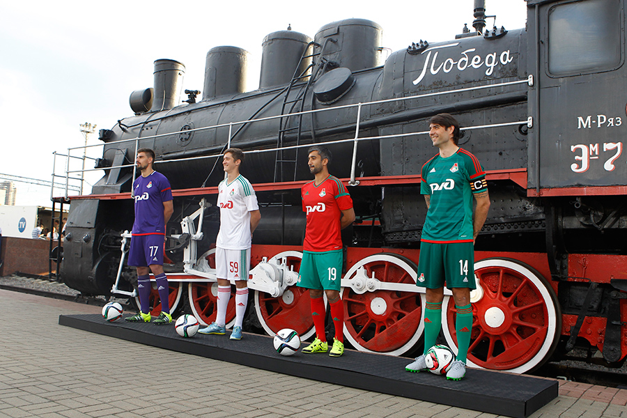 Lokomotiv Moscow was founded as part of the rail workers union