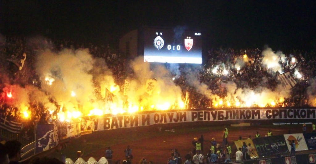 The eternal derby is always a heated affair