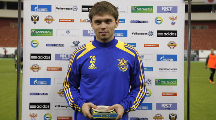 Oleksandr Karavayev received his first ever call up Image via footbom.com