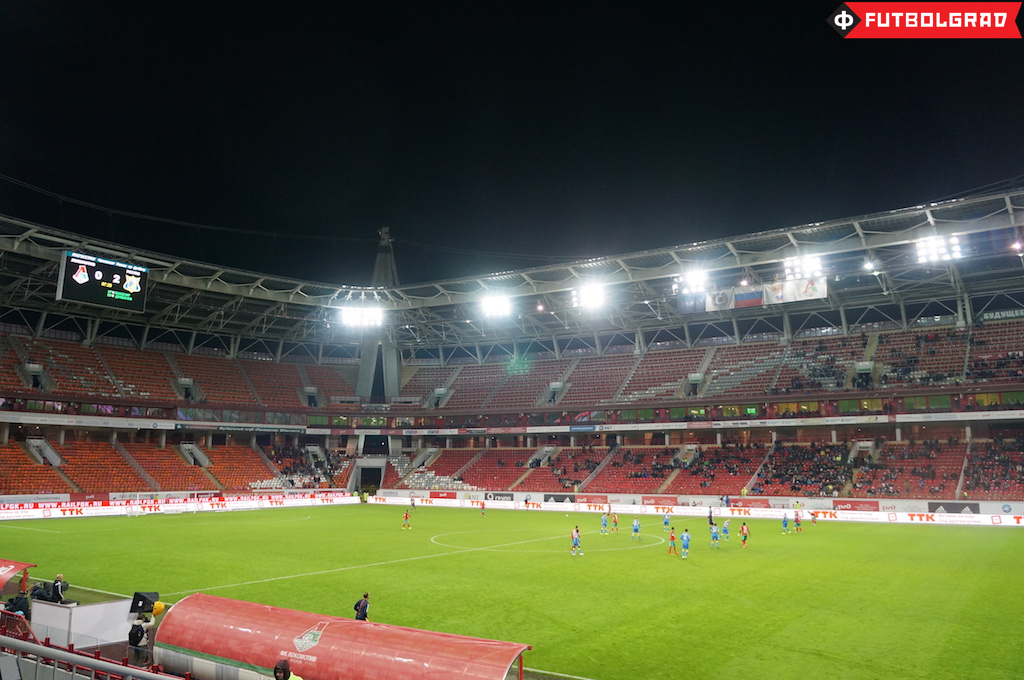 Lokomotiv Moscow – Attendance Problems at the Rail Workers Club