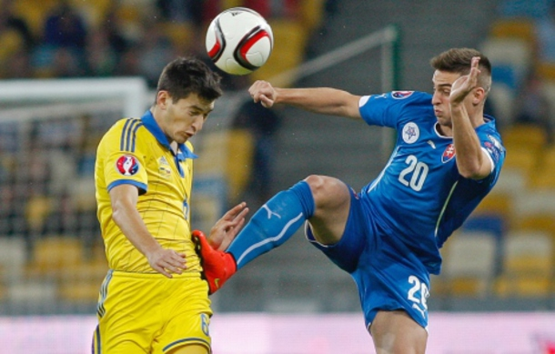 Ukraine only drew Slovakia 0:0 via