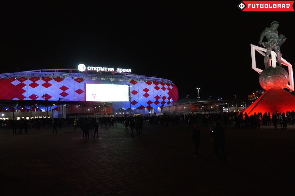 Spartak's new arena will host World Cup matches - Image via Manuel Veth