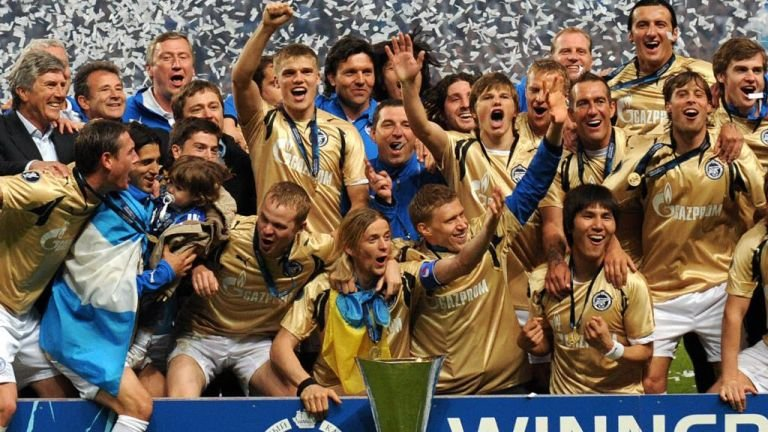 Zenit won the UEFA Cup in 2008 - Image via