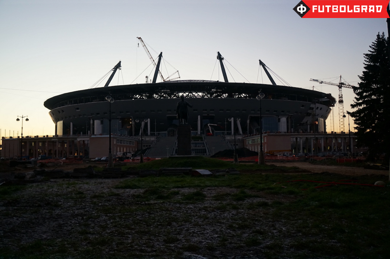 New stadiums like the Zenit Arena will be heated - Image via Manuel Veth