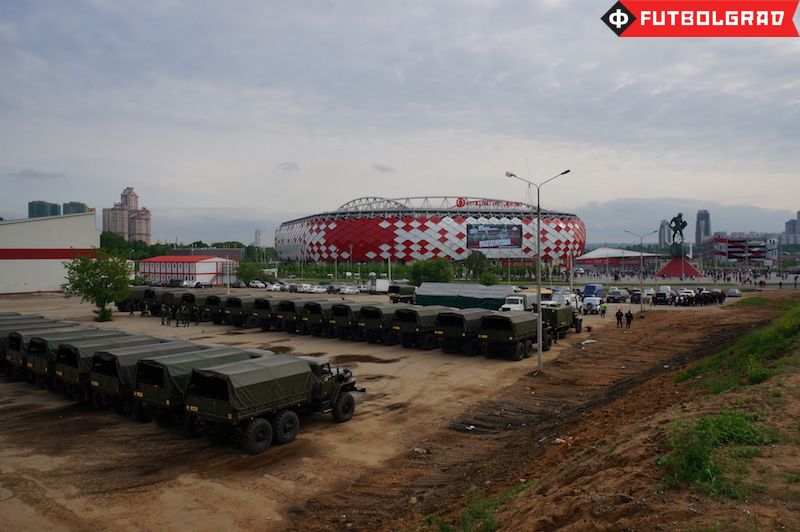 Another year, another crisis at Spartak Moscow? - Image via Manuel Veth