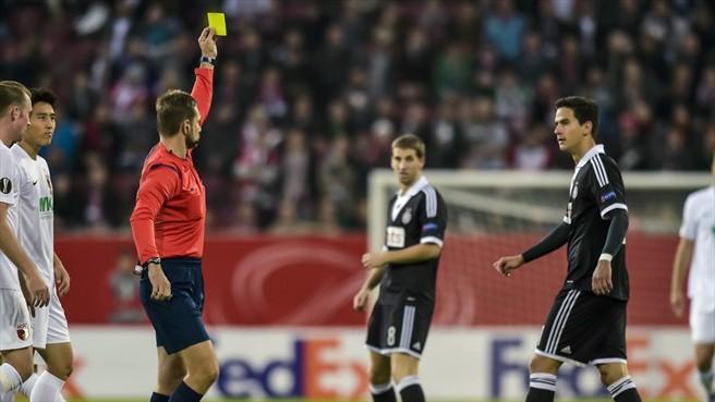 The Meltdown Against Augsburg - Image via UEFA.com