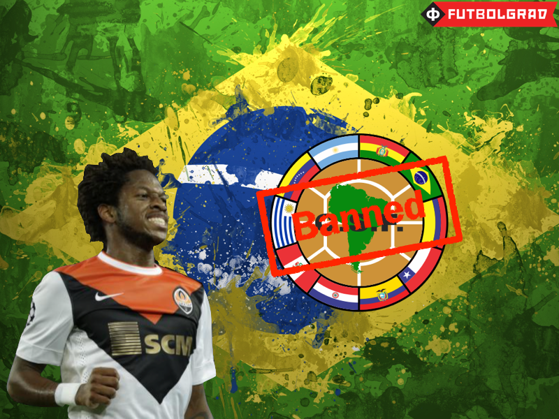 Shakhtar's Fred Receives CONMEBOL Ban
