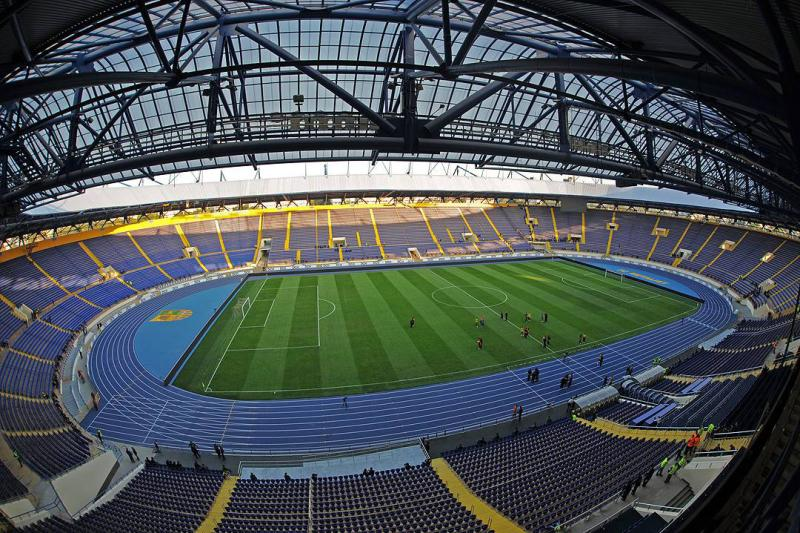 Will there be football at the Metalist Stadium after December? - Image via stadiumguide.com