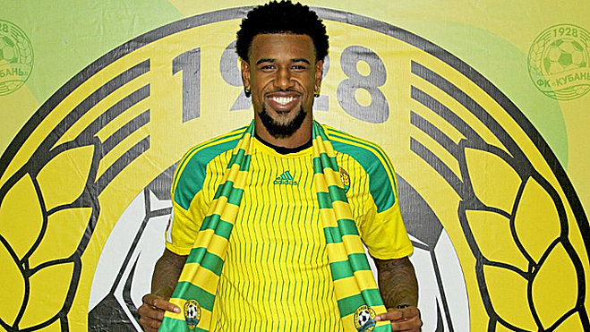 Felipe Santana has been a controversial signing for Kuban Krasnodar - Image via Sport1.de