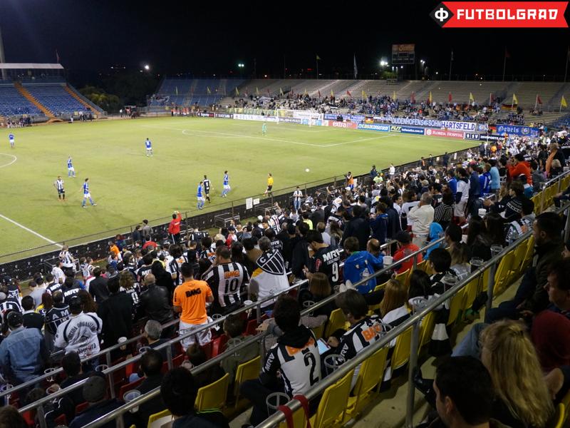 Atlético Mineiro fans at Lockhart Stadium - Image via Manuel Veth