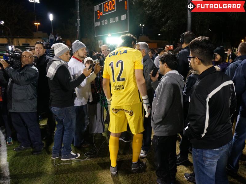 Corinthians' keeper Cássio Ramos - Image via Manuel Veth