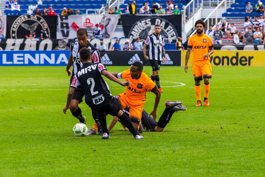 Corinthians lost their first match against league rivals Atlético Mineiro - Image via pressfc.com.br