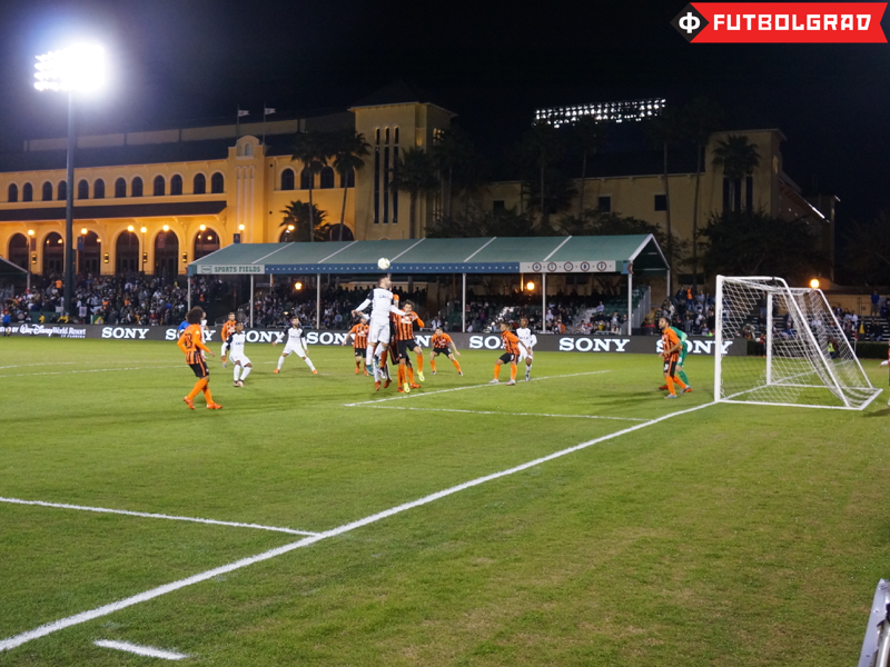 Shakhtar vs. Corinthians game action - Image via Manuel Veth