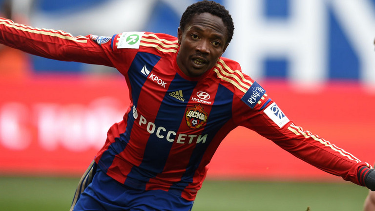 Ahmed Musa is an important part CSKA Moscow's attack - Image via abc