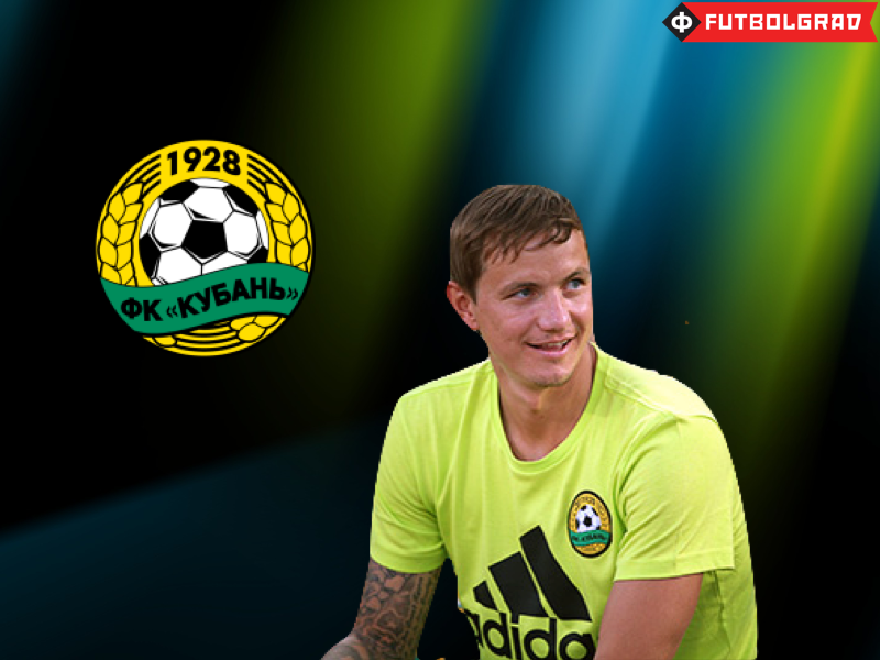 Pavlyuchenko mostly sitting on the bench for Kuban Krasnodar
