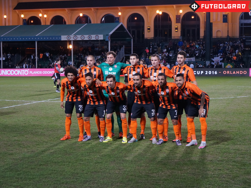 Shakhtar Donetsk before their match against Corinthians - Image via Manuel Veth