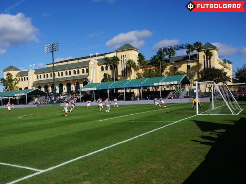 The ESPN Wide World of Sports Complex hosted Shakhtar's first Florida Cup match vs Fluminense