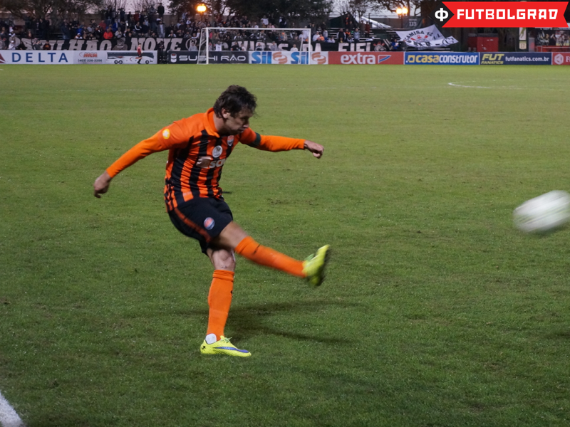 Shakhtar captain Darijo Srna in action - Image via Manuel Veth