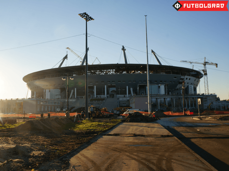 The New Zenit Arena on Krestovsky Island will make it easier to play in the winter time