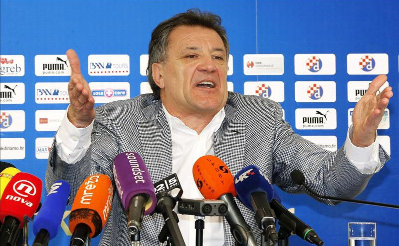 Zdravko Mamić announced his resignation at a Press Conference, but in reality he remains in charge - Image via abc